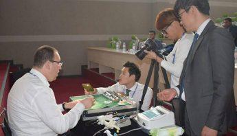 IBS ، أكاديمية زراعة الأسنان الدولية مع أطباء أسنان من الجزائر